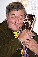 Stephen Fry at the announcement of nominations for the 2015 EE BAFTA Film Awards, BAFTA, London. 09/01/2015 Picture by: Steve Vas / Featureflash