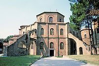 Italy: Ravenna--Church of San Vitale, consecrated 547. Photo '83.