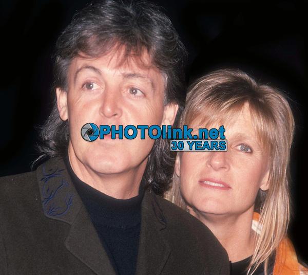 Paul McCartney Linda McCartney Undated<br /> Photo By John Barrett/PHOTOlink