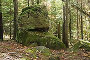 Old Man of the Valley in Shelburne, New Hampshire USA.