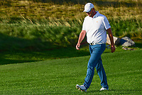 Marc Leishman (AUS) makes his way down 15 during round 1 foursomes of the 2017 President's Cup, Liberty National Golf Club, Jersey City, New Jersey, USA. 9/28/2017.<br /> Picture: Golffile   Ken Murray<br /> ll photo usage must carry mandatory copyright credit (&copy; Golffile   Ken Murray)