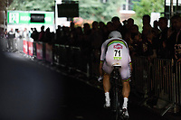 iTT World Champion Tony Martin's (GER/Katusha Alpecin) start. <br /> <br /> Binckbank Tour 2017 (UCI World Tour)<br /> Stage 2: ITT Voorburg (NL) 9km