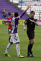 Perez Lasa referee during Real Valladolid V Osasuna match of La Liga 2012/13. 31/03/2013. Victor Blanco/Alterphotos /NortePhoto