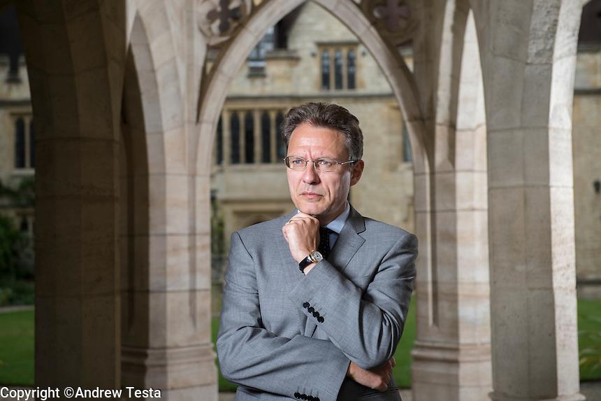 UK. Oxford. 29th August  2015<br /> <br /> Andrew Testa for Philosophie Magazin