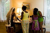 Wimbush Mansion wedding photos of Freddie Wilson and Katisha Givens