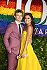 Ben Cook and Ashley Park attends the 2019 Tony Awards on June 9, 2019 at Radio City Music Hall in New York, New York, USA.<br /> <br /> photo by Robin Platzer/Twin Images<br />  <br /> phone number 212-935-0770
