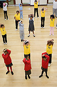Silent Steps, an after-school street dance class at the Beethoven Centre, Queens Park, London