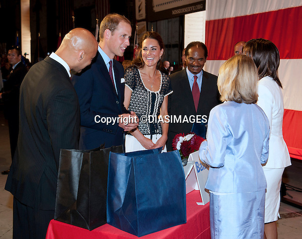 "PRINCE WILLIAM & KATE CALFORNIA .attend the Service Nation: Mission Serve event at the Sony Studios, Los Angeles_10/07/2011.Mandatory Credit Photo: ©DIASIMAGES. .**ALL FEES PAYABLE TO: ""NEWSPIX INTERNATIONAL""**..No UK Usage until 6/08/2011.IMMEDIATE CONFIRMATION OF USAGE REQUIRED:.DiasImages, 31a Chinnery Hill, Bishop's Stortford, ENGLAND CM23 3PS.Tel:+441279 324672  ; Fax: +441279656877.Mobile:  07775681153.e-mail: info@newspixinternational.co.uk"