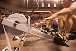 Concept2 Crash-B World Indoor Rowing Championships, 2012, Bull Pen competition, athletes compete annually on a Concept2 Indoor Rower for time over 2000 meters, Agganis Arena, Boston University, Boston, Massachusetts,