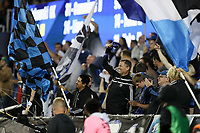 San Jose, CA - Wednesday September 19, 2018: Fans during a Major League Soccer (MLS) match between the San Jose Earthquakes and Atlanta United FC at Avaya Stadium.