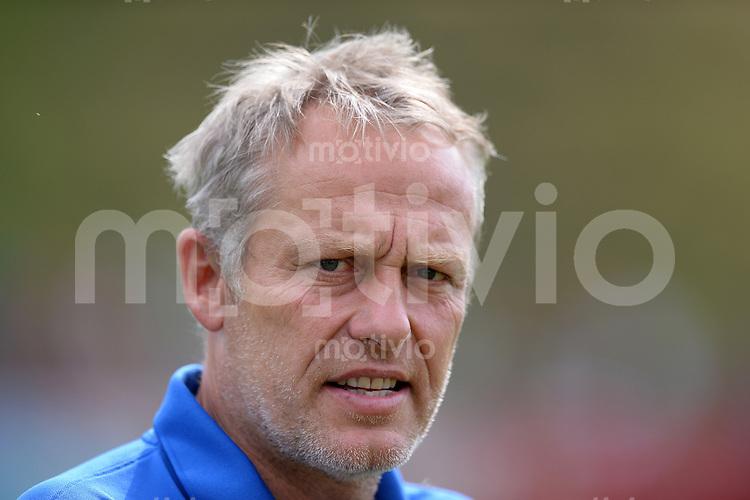 FUSSBALL  1. Bundesliga  Testspiel  2013/2014    SC Freiburg - FC Radolfszell      24.07.2013 Trainer Christian Streich (SC Freiburg)