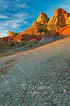 Sunrise, Bentonite Hills, Circle Cliffs, Grand Staircase-Escalante National Monument, Utah