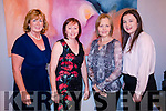 Fashion Extravaganza held in the Kenmare Bay Hotel on Saturday 17th November organised by the Templenoe GAA. <br /> <br /> L-R: Ann O'Sullivan, Eileen Reilly, Ann O'Connor and Denise Reilly
