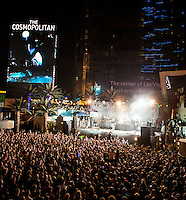LAS VEGAS, NV - September 28:  Blink-182 performs at The Boulevard Pool at The Cosmopolitan of Las Vegas on September 28, 2012 in Las Vegas, Nevada. © Kabik/ Starlitepics/MediaPunch Inc. /NortePhoto