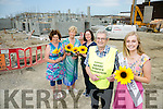 Launching The Hospice Sunflower Appeal which takes place all over the county on the 10th and 11th of June on Friday at the new Palliative Care extension  were Mary Shanahan (Kerry Hospice) Mairead Fernane (Kerry Hospice) Aileen Diggins, Clinical Nurse Manager, Palliative Day Care, Ted Moynihan (Chairman Hospice) and Elysha Brennan, Rose of Tralee