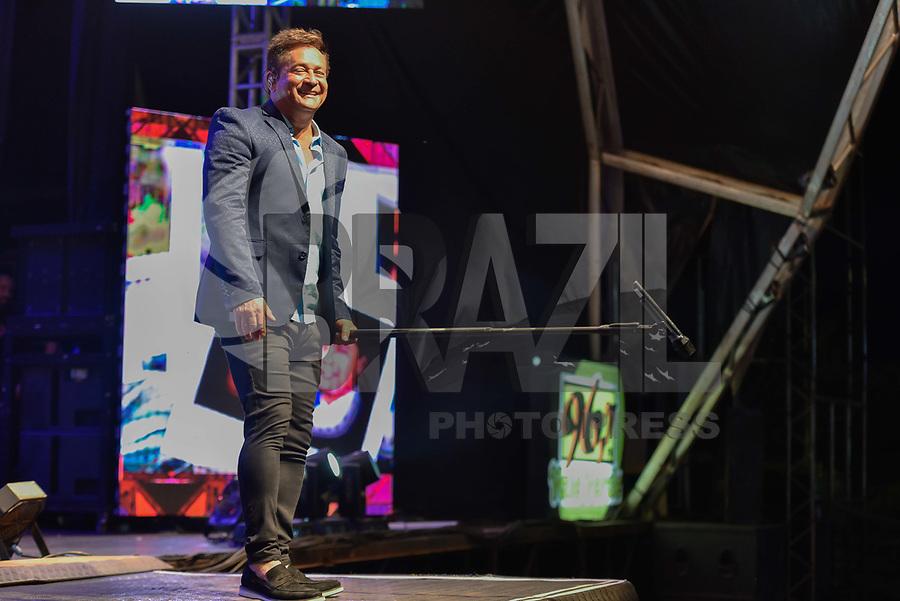 CONCHAS,SP, 30.09.2018 - SHOW-SP - O cantor Leonardo, durante show Bar do Leo na 41º Festa do Peão de Boiadeiro da cidade de Conchas interior de Sao Paulo, na madrugada deste domingo, 30. (Foto: Mauricio Bento / Brazil Photo Press)