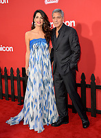 George Clooney &amp; Amal Clooney at the premiere for &quot;Suburbicon&quot; at the Regency Village Theatre, Westwood. Los Angeles, USA 22 October  2017<br /> Picture: Paul Smith/Featureflash/SilverHub 0208 004 5359 sales@silverhubmedia.com