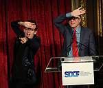 "Sam Pinkleton and Mark Brokaw during The ""Mr. Abbott"" Award 2019 Presentation at The Metropolitan Club on 3/25/2019 in New York City."