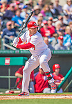 2 March 2013: St. Louis Cardinals outfielder Matt Holliday in action during a Spring Training game against the Washington Nationals at Roger Dean Stadium in Jupiter, Florida. The Nationals defeated the Cardinals 6-2 in their first meeting since the NLDS series in October of 2012. Mandatory Credit: Ed Wolfstein Photo *** RAW (NEF) Image File Available ***