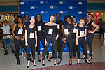 Models pose at model casting for Fashion Week Brooklyn Fall Winter 2018 at Kings Plaza Mall in Brooklyn, New York on March 17, 2018.