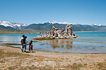 tufas, Mono Lake; Mono Basin National Forest Scenic Area, California, USA.  Photo copyright Lee Foster.  Photo # california120989