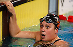 Great Britain's Caitlin Tootil competes during the swimming competition Swimmeeting at Bolzano / Bozen , on November 8, 2014.