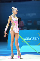 August 29, 2013 - Kiev, Ukraine - YANA KUDRYAVTSEVA of Russia performs at 2013 World Championships.