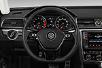 Car pictures of steering wheel view of a 2017 Volkswagen Passat R-Line 4 Door Sedan