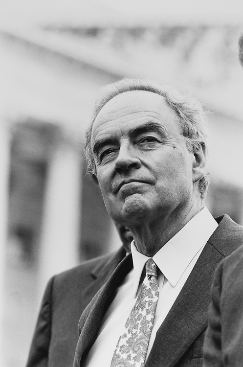 Sen. Harris Wofford, D-Pa., on June 5, 1991. (Photo by Maureen Keating/CQ Roll Call via Getty Images)