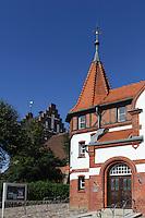 Museum und Stadtkirche in Heiligenhafen, Schleswig-Holstein, Deutschland