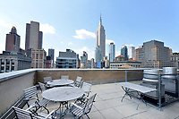 Roof Deck at 111 East 30th Street
