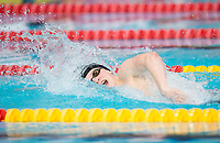 Picture by Allan McKenzie/SWpix.com - 17/12/2017 - Swimming - Swim England Nationals - Swim England National Championships - Ponds Forge International Sports Centre, Sheffield, England - Joe Litchfield races in the mens open 200m individual medley.