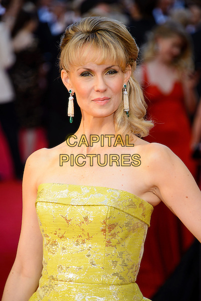 LONDON, ENGLAND - APRIL 13: Leigh Zimmerman attends the Olivier Awards 2014 at the Royal Opera House on April 13, 2014 in London, England. <br /> CAP/CJ<br /> &copy;Chris Joseph/Capital Pictures
