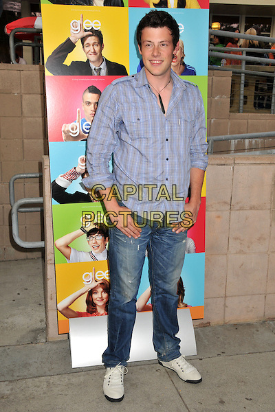 13 July 2013 - Vancouver, British Colombia, Canada - Glee star Cory Monteith was found dead Saturday in his hotel room at the Fairmont Pacific Rim Hotel in Vancouver. He was 31. The cause of death was not immediately apparent. An autopsy was set for Monday. According to police, there were no indications of foul play. They would not discuss what, if anything, was found in room. File Photo: 11 May 2009 - Santa Monica, CA - Cory Monteith. &quot;Glee&quot; Los Angeles Premiere held at Santa Monica High School. <br /> CAP/ADM/BP<br /> &copy;Byron Purvis/AdMedia/Capital Pictures