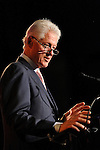 President Bill Clinton speaks at the Holly's Angels Gala for Making Headway Foundation at Cipriani in New York City.   The benefit honored the memory of  Holly Lind. Making Headway provides medical and social service support for pediatric brain and spinal chord cancer patients and their families.