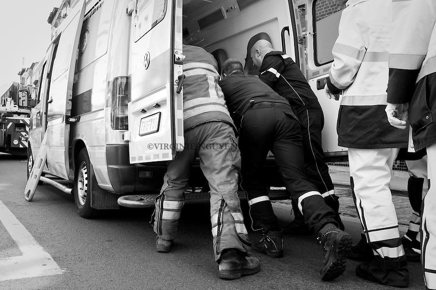 Pour chaque intervention les sapeurs-pompiers sont obligés d'écrire un rapport qui réunit les informations sur les victimes et le type d'opération..