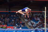 Chris Baker of Great Britain during the Men's High Jump during the Muller Grand Prix  IAAF Diamond League meeting at Alexander Stadium, Perry Barr, Birmingham.<br /> Picture by Alan Stanford +44 7915 056117<br /> 18/08/2018