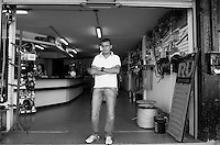 Sergio Alfredo Peña. Hardware store owners in Culiacan, Sinaloa,  Mexico