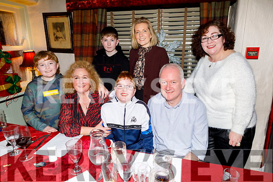 Harry Rusk from Tralee celebrating his 12th birthday in Cassidys on Saturday.<br /> Seated l to r: Paddy Rusk, Brid McElligott, Harry and Robert Rusk.<br /> Standing: Jack and Sandra Rusk and Cora McElligott,