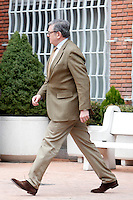 Carlos García Revenga visit King Juan Carlos of Spain at La Milagrosa Hospital in Madrid, Spain. March 03, 2013. (ALTERPHOTOS/Caro Marin) /NortePhoto