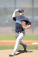 Brandon Maurer, Seattle Mariners minor league spring training..Photo by:  Bill Mitchell/Four Seam Images.