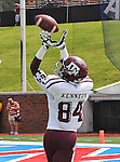 Texas A&M Aggies wide receiver Malcome Kennedy (84) in action during the game between the Southern Methodist Mustangs and the Texas A&M Aggies at the Gerald J. Ford Stadium in Dallas, Texas. Texas A & M defeats SMU 48 to 3.