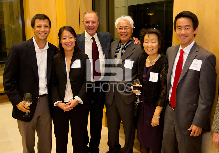 Stanford Athletics Hall of Fame, event on November 11, 2011, at the Alumni Center.  ( Norbert von der Groeben )