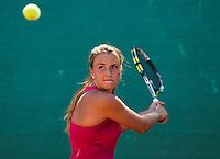 August 13, 2014, Netherlands, Raalte, TV Ramele, Tennis, National Championships, NRTK,  Liv Geurts (NED)<br /> Photo: Tennisimages/Henk Koster