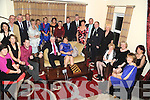 SOCIALITES: Members of Kenmare Golf Club attending their annual social in the Brook Lane Hotel, Kenmare, on Saturday night.