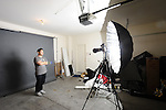 "86"" Silver Parabolic Light Modifier by Paul C Buff"