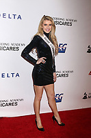 LOS ANGELES - FEB 8:  Acacia Courtney, Miss Connecticut USA 2019 at the MusiCares Person of the Year Gala at the LA Convention Center on February 8, 2019 in Los Angeles, CA