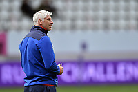 Bath Director of Rugby Todd Blackadder looks on during the pre-match warm-up. European Rugby Challenge Cup Semi Final, between Stade Francais and Bath Rugby on April 23, 2017 at the Stade Jean-Bouin in Paris, France. Photo by: Patrick Khachfe / Onside Images