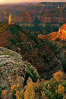 749220125 sunrise lights up mount hayden and the cayon walls at point imperial on the north rim of grand canyon naitonal park arizona