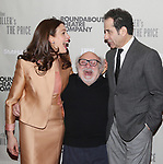 """Jessica Hecht, Danny DeVito and Tony Shalhoub attends the  Broadway Opening Night performance After Party for the Roundabout Theatre Production of """"The Price"""" at the American Airlines TheatreTheatre on March 16, 2017 in New York City."""